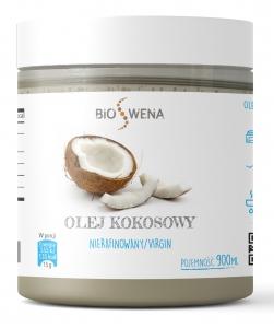 Olej kokosowy 900ml nierafinowany virgin PET